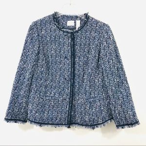 Emma James Boucle Jacket Petite 16